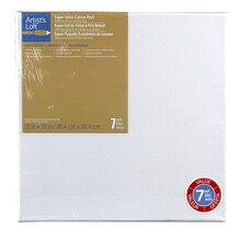 "Artist's Loft Necessities Canvas Super Value Pack, 12"" x 12"""